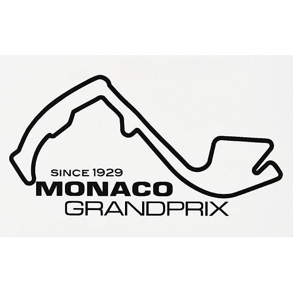 MONACO Grand Prixオフィシャルステッカー(ブラック)|itazatsu