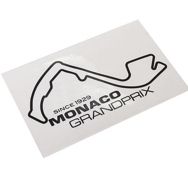 MONACO Grand Prixオフィシャルステッカー(ブラック)|itazatsu|03
