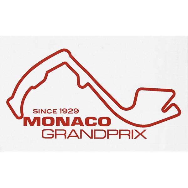 MONACO Grand Prixオフィシャルステッカー(レッド)|itazatsu