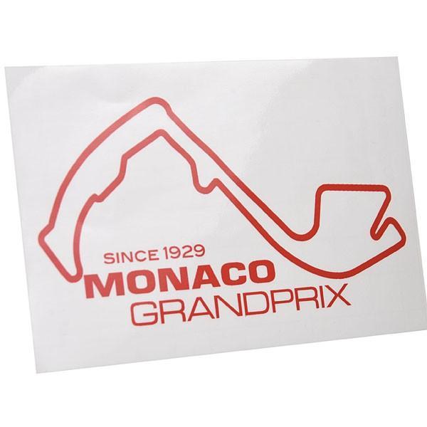 MONACO Grand Prixオフィシャルステッカー(レッド)|itazatsu|02