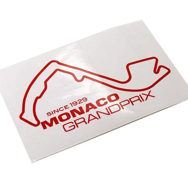 MONACO Grand Prixオフィシャルステッカー(レッド)|itazatsu|03