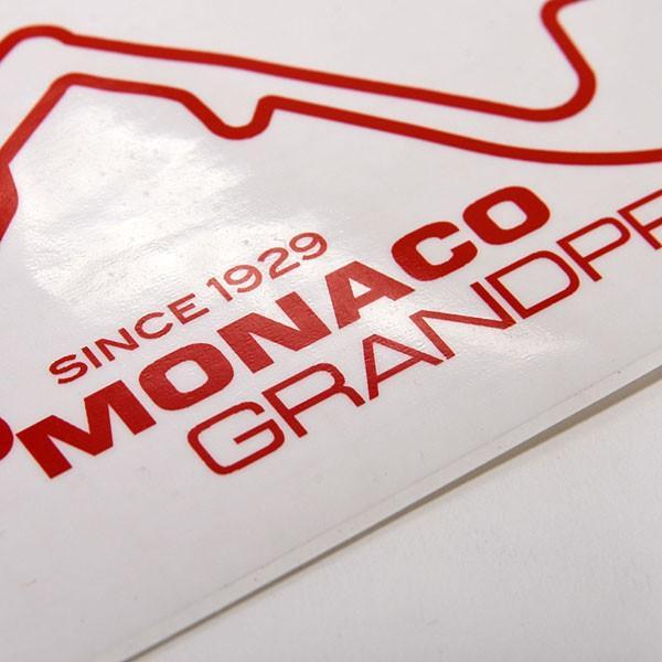 MONACO Grand Prixオフィシャルステッカー(レッド)|itazatsu|04