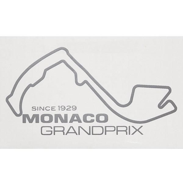 MONACO Grand Prixオフィシャルステッカー(シルバー)|itazatsu