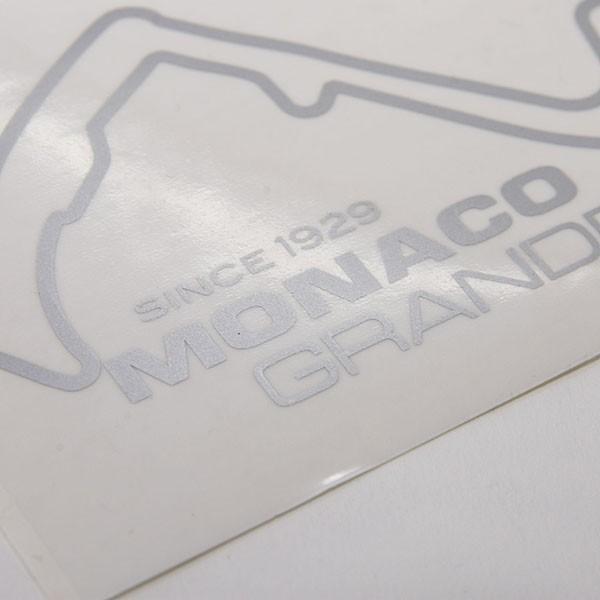 MONACO Grand Prixオフィシャルステッカー(シルバー)|itazatsu|04