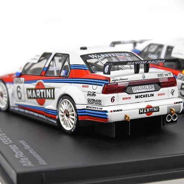 1/43 アルファロメオ 155V6 TI 1996 ITC SUZUKAミニチュアモデル2台セット(ラリーニ&ナンニーニ)|itazatsu|04