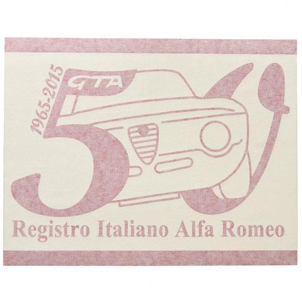 アルファロメオ Giulia GTA 50周年記念ロゴステッカー(レッド) by RIA(Registro Italiano Alfa Romeo)|itazatsu|02