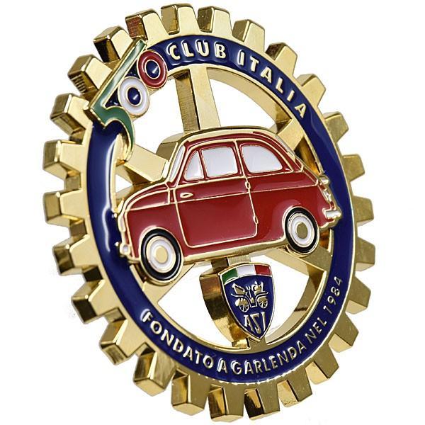 フィアット FIAT 500 CLUB ITALIAグリルエンブレム|itazatsu