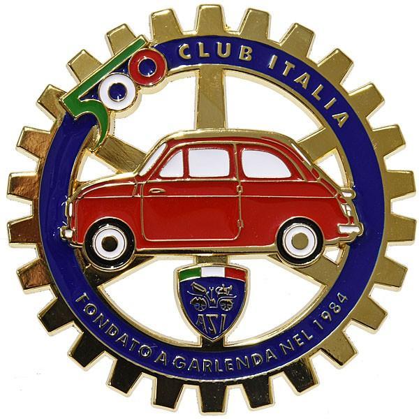 フィアット FIAT 500 CLUB ITALIAグリルエンブレム|itazatsu|02