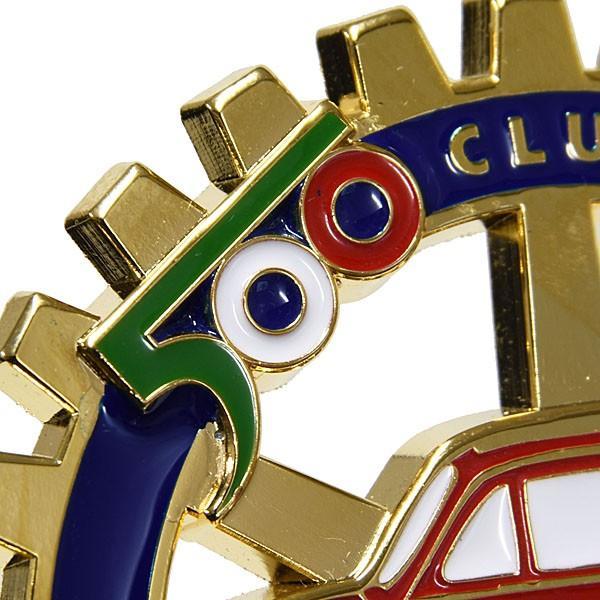 フィアット FIAT 500 CLUB ITALIAグリルエンブレム|itazatsu|03