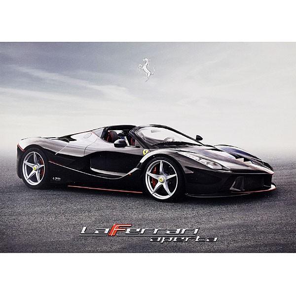 フェラーリ純正 La Ferrari Apertaプレゼンテーションカード|itazatsu
