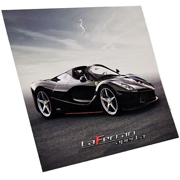 フェラーリ純正 La Ferrari Apertaプレゼンテーションカード|itazatsu|03