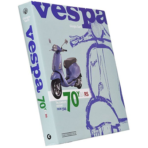ベスパ VESPA 70 YEARS The complete history from 1946|itazatsu|02