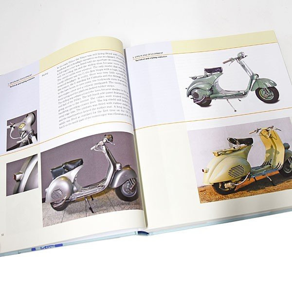 ベスパ VESPA 70 YEARS The complete history from 1946|itazatsu|03