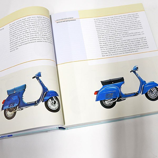 ベスパ VESPA 70 YEARS The complete history from 1946|itazatsu|04