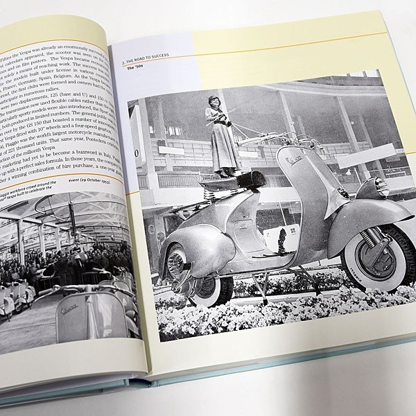 ベスパ VESPA 70 YEARS The complete history from 1946|itazatsu|05