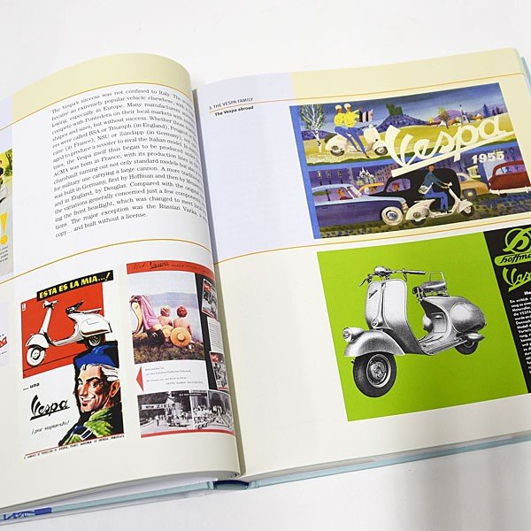 ベスパ VESPA 70 YEARS The complete history from 1946|itazatsu|07