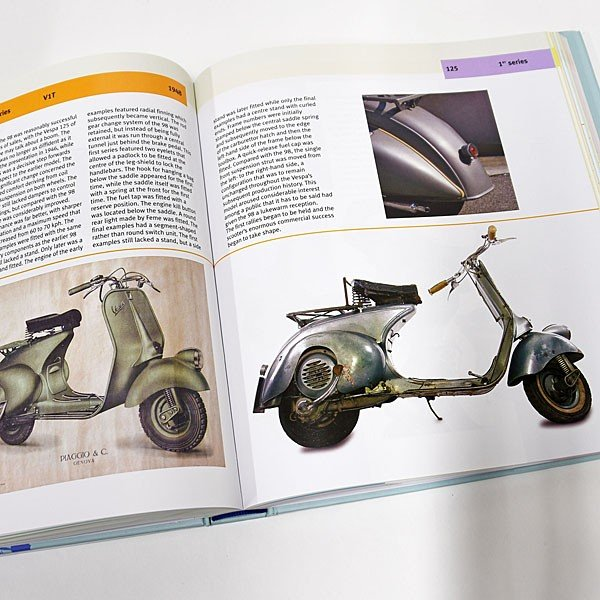 ベスパ VESPA 70 YEARS The complete history from 1946|itazatsu|09