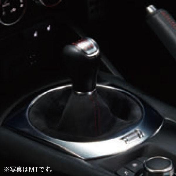 アバルト純正 124spiderアルカンターラシフトブーツ(AT車用/レッドステッチ)|itazatsu
