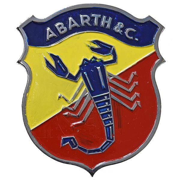 アバルト ABARTH&Cエンブレム(Large/ペイントタイプ)|itazatsu