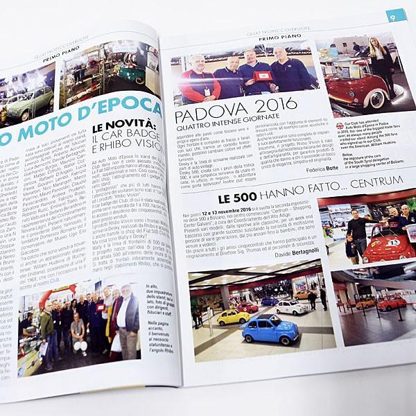 フィアット FIAT 500 Club ITALIA会報誌 2017年No.1|itazatsu|04