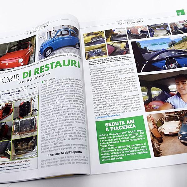 フィアット FIAT 500 Club ITALIA会報誌 2017年No.1|itazatsu|05
