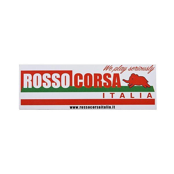 ROSSO CORSA ITALIAステッカー(104mm)|itazatsu