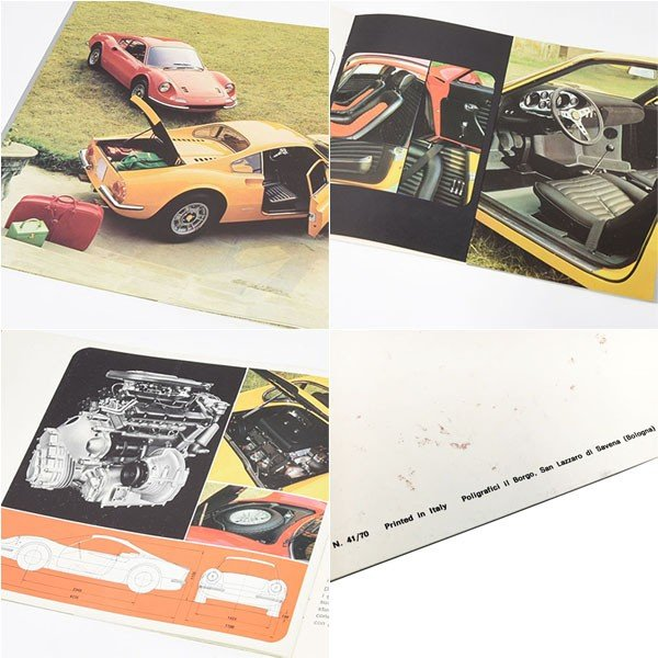 フェラーリ Ferrari Dino 246GTカタログ-1970年イタリア版タイプ3/最終版-|itazatsu|06