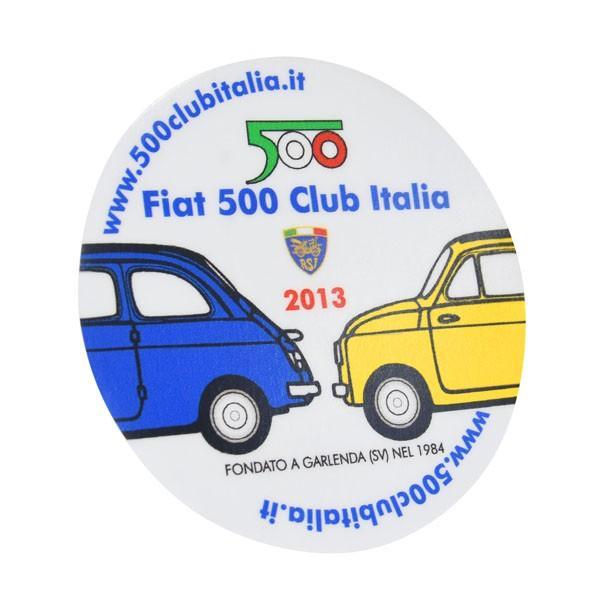 フィアット FIAT 500 CLUB ITALIA 2013ステッカー(裏貼りタイプ)|itazatsu|02