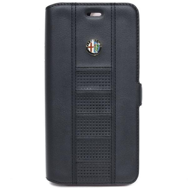 アルファロメオ純正 iPhone7/6/6s Plus手帳型ソフトケース(ブラック) itazatsu 03
