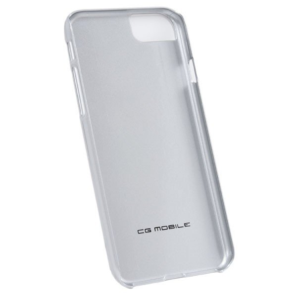 フェラーリ純正 iPhone7/6/6sリアルカーボン背面ケース(シルバー)|itazatsu|02