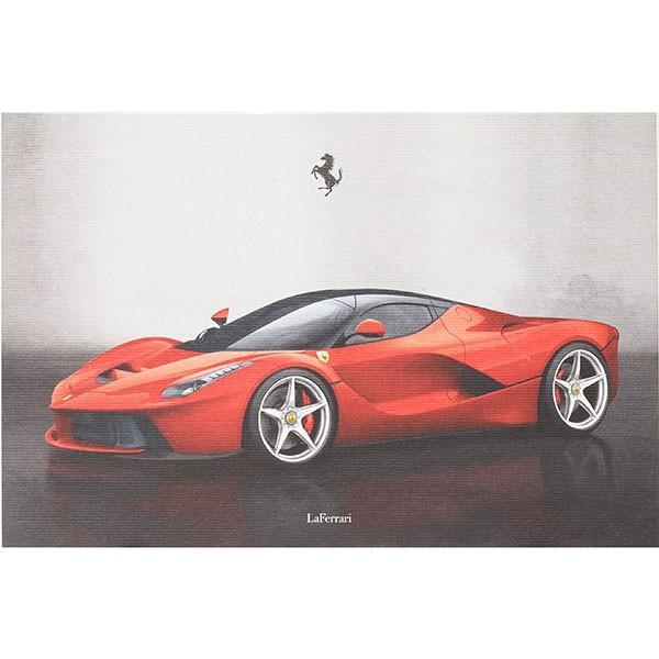 フェラーリ純正 La Ferrariテクニカルカード|itazatsu
