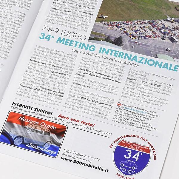 フィアット FIAT 500 CLUB ITALIA会報誌2017年No.2|itazatsu|04