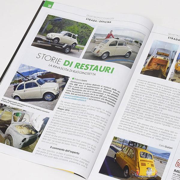 フィアット FIAT 500 CLUB ITALIA会報誌2017年No.2|itazatsu|05
