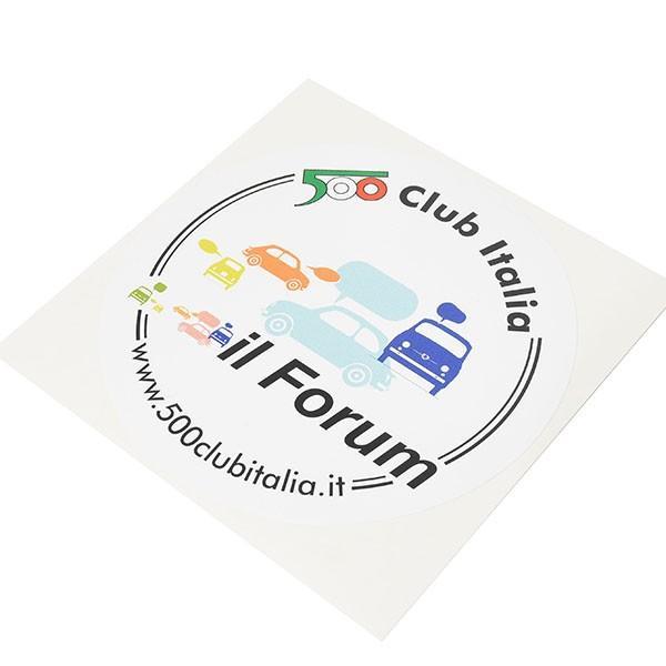 フィアット FIAT 500 CLUB ITALIAステッカー-il Form- itazatsu 03