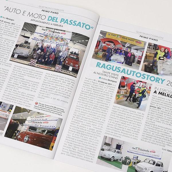 フィアット FIAT 500 CLUB ITALIA会報誌 2017年No.3|itazatsu|03