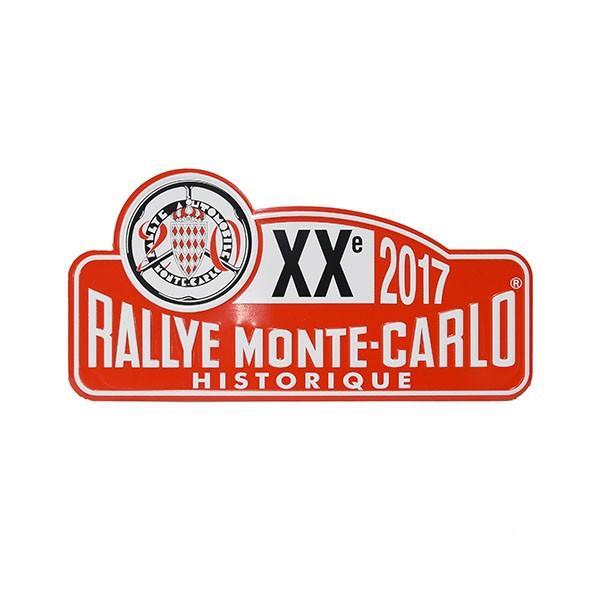 Rally Monte Carlo Historique2017オフィシャルメタルプレート(Small)|itazatsu