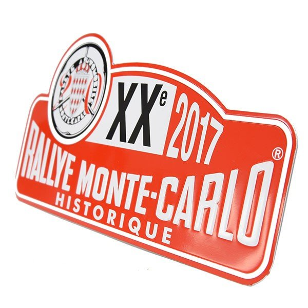 Rally Monte Carlo Historique2017オフィシャルメタルプレート(Small)|itazatsu|03