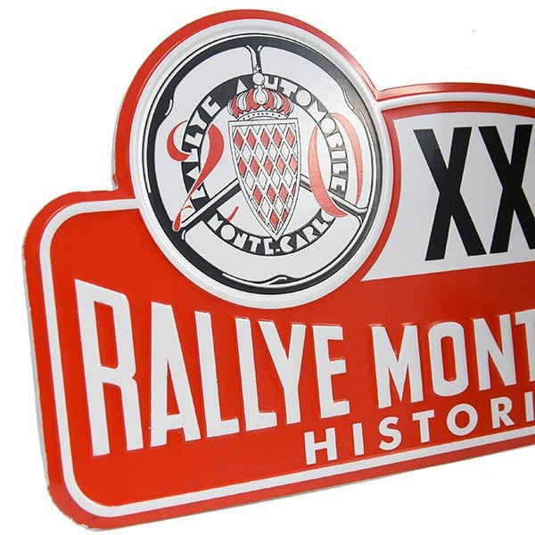 Rally Monte Carlo Historique2017オフィシャルメタルプレート(Small)|itazatsu|04