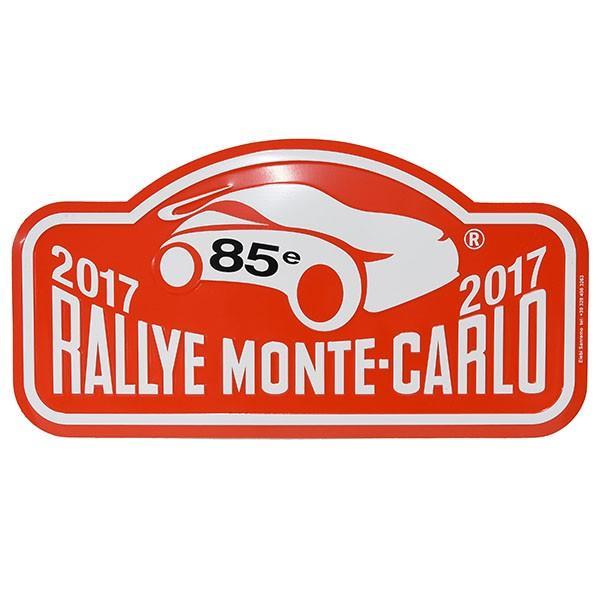 Rally Monte Carlo 2017オフィシャルメタルプレート(Large)|itazatsu