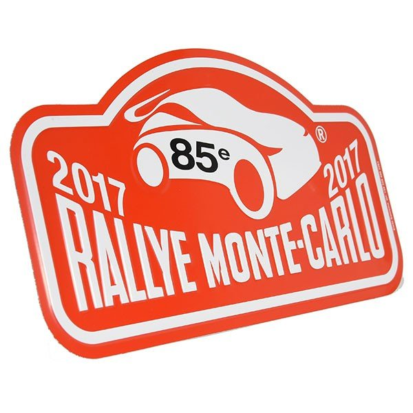 Rally Monte Carlo 2017オフィシャルメタルプレート(Large)|itazatsu|02