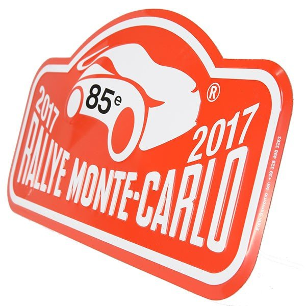 Rally Monte Carlo 2017オフィシャルメタルプレート(Large)|itazatsu|03