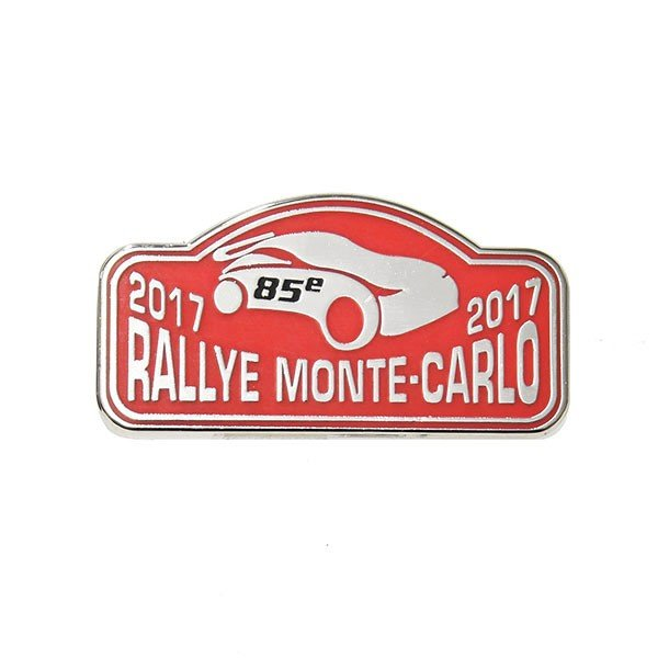 Rally Monte Carlo 2017オフィシャルピンバッジ|itazatsu