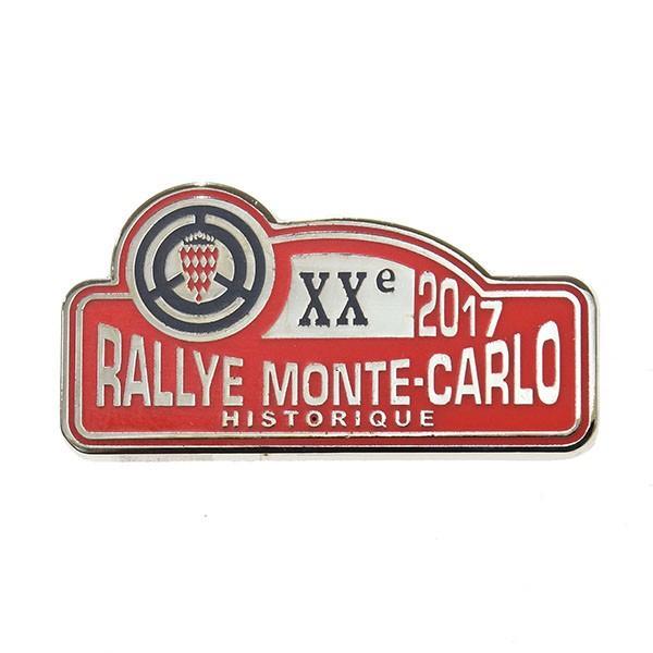 Rally Monte Carlo Historique 2017オフィシャルピンバッジ|itazatsu