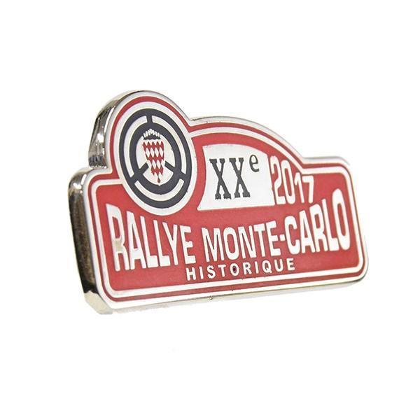 Rally Monte Carlo Historique 2017オフィシャルピンバッジ|itazatsu|02