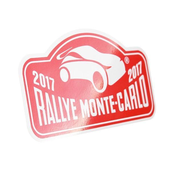 Rally Monte Carlo 2017オフィシャルステッカー|itazatsu|02