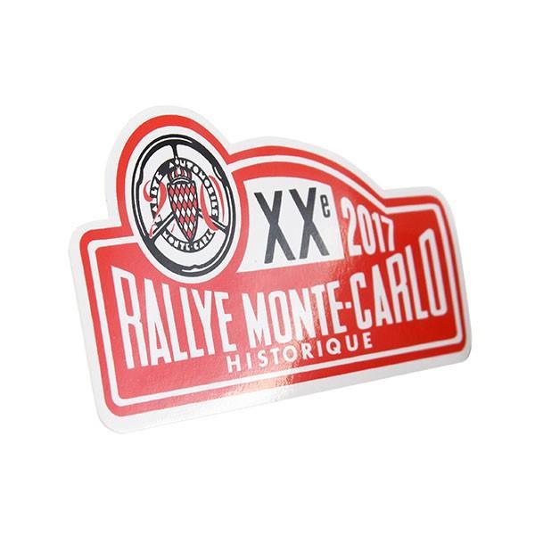 Rally Monte Carlo Historique 2017オフィシャルステッカー|itazatsu|02