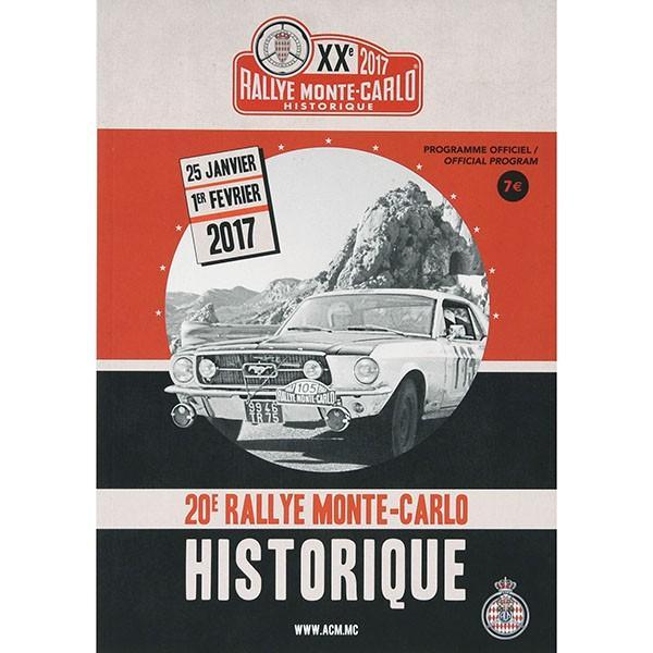 Rally Monte Carlo Historique 2017オフィシャルプログラム|itazatsu