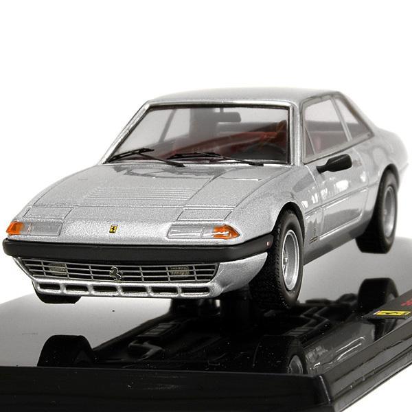 1/43 フェラーリ  365 GT4 2+2ミニチュアモデル(シルバー)|itazatsu