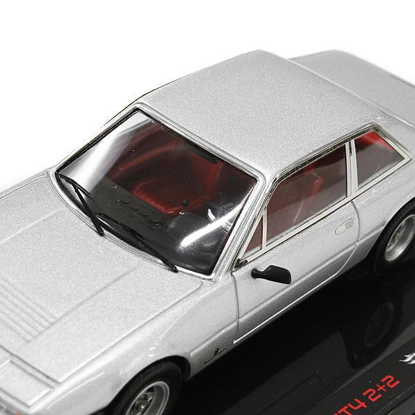 1/43 フェラーリ  365 GT4 2+2ミニチュアモデル(シルバー)|itazatsu|04