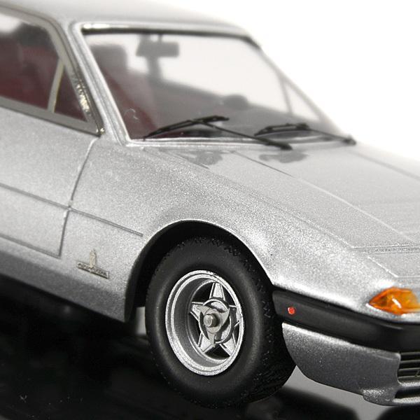 1/43 フェラーリ  365 GT4 2+2ミニチュアモデル(シルバー)|itazatsu|06